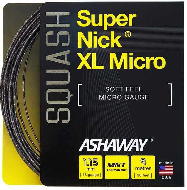 SuperNick XL Micro Single Black