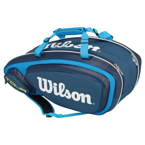 Wilson Tour 2.0 Bag 9 Racket Blue