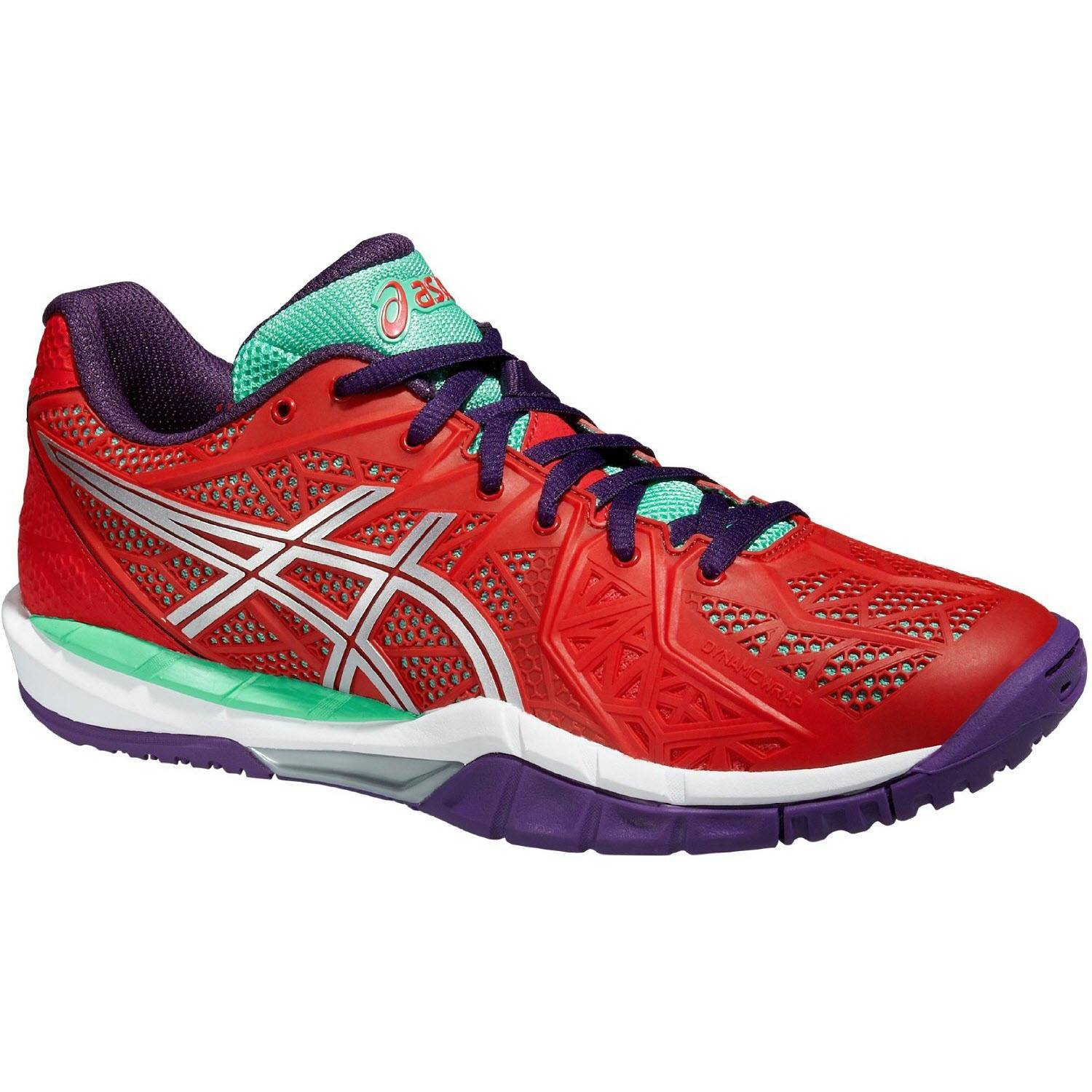 Asics Gel Fireblast 2 Women - Red / Purple / Green