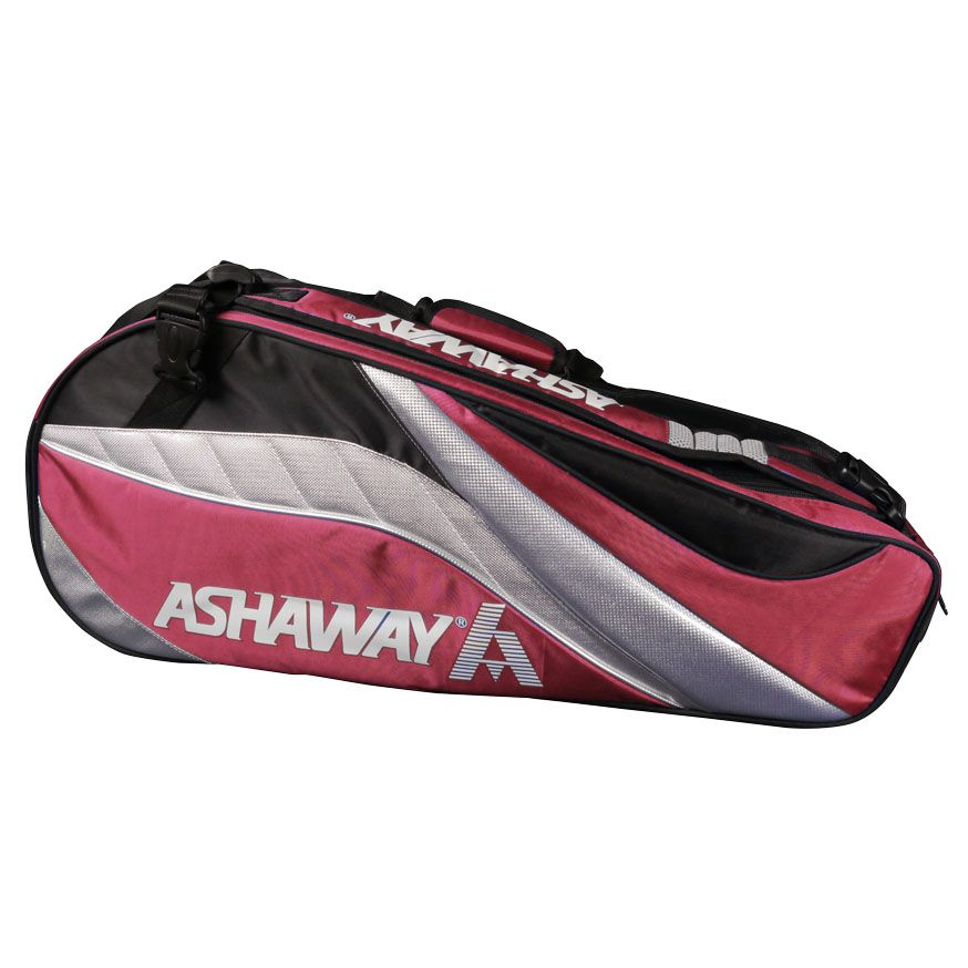 Ashaway Double ATB863D 6 Racket Bag - Red
