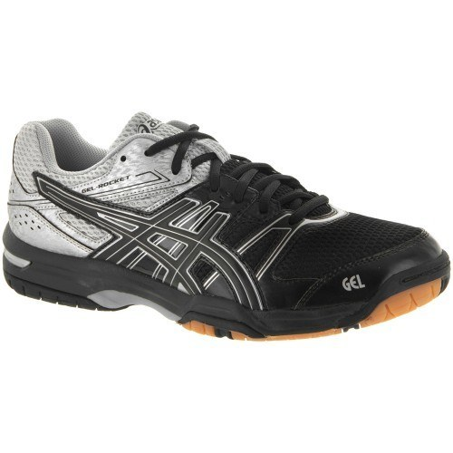 Asics Gel Rocket 7 Men - Black Silver