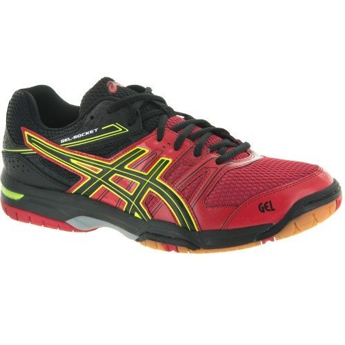 Asics Gel Rocket 7 Men - Red Black Yellow