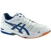 Asics Gel Rocket 7 Men - White Blue