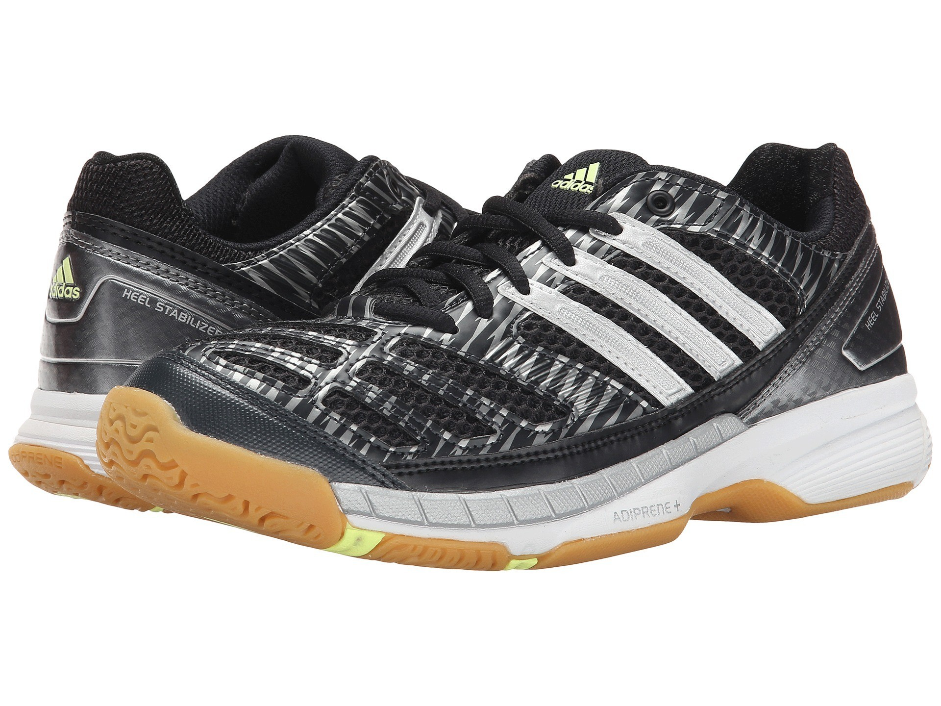 adidas-volley-assault-women-black-silver