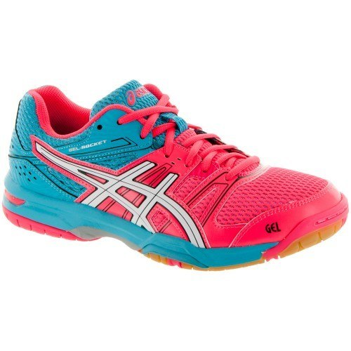 Asics Gel Rocket 7 Women - Blue Pink