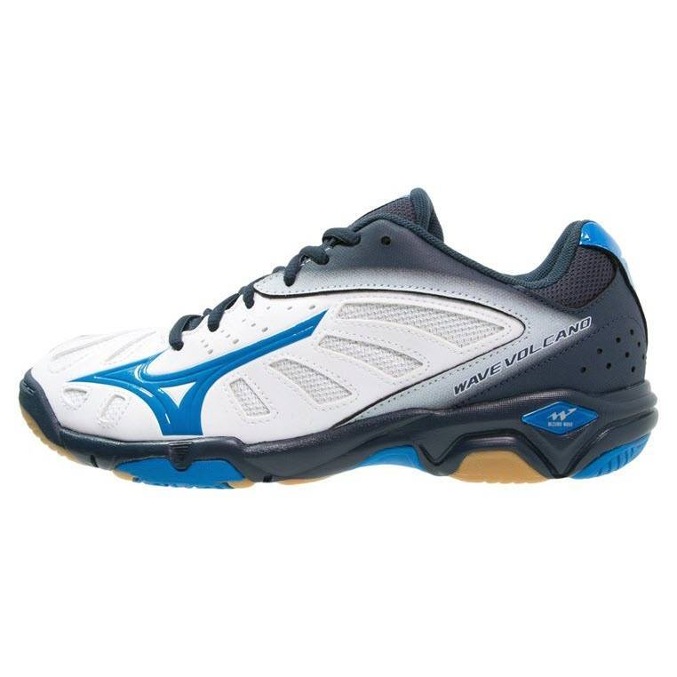 Mizuno Wave Volcano Men - White Blue