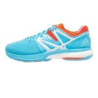 Adidas Stabil Boost Women - Bright Cyan / Solar Red
