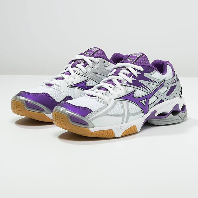 Mizuno Wave Bolt 4 Women - White Pansy Silver