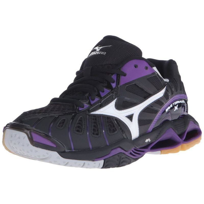 Mizuno Wave Tornado X Women - Black Purple