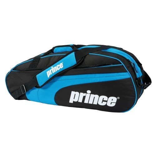 Prince Club 6 Racket Bag - Black Blue