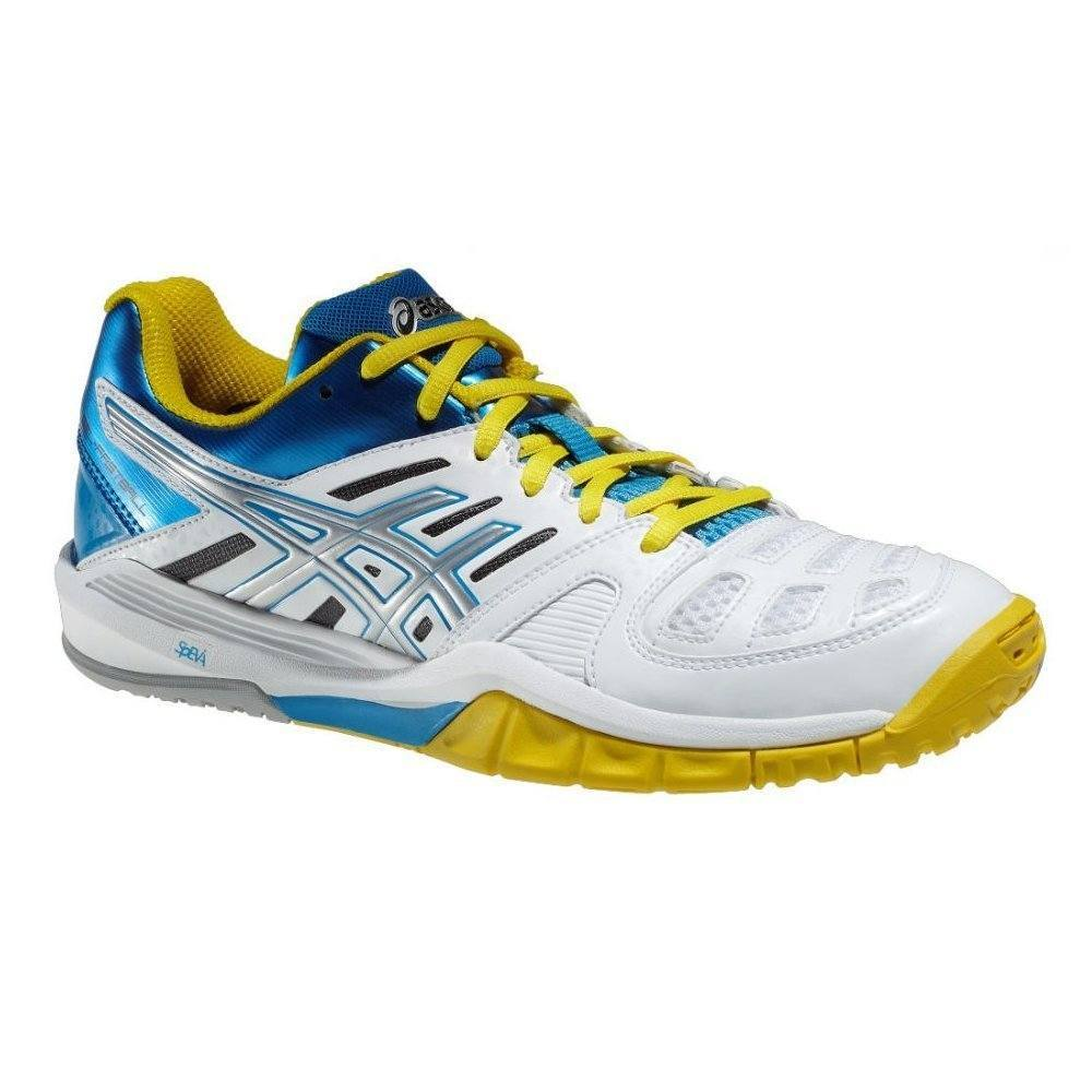 Asics Gel Fastball Women - White Yellow Blue