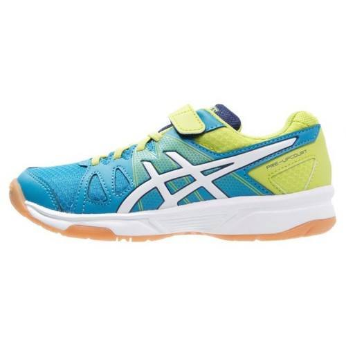 Asics Pre Upcourt - Methly Blue,  White, Lime
