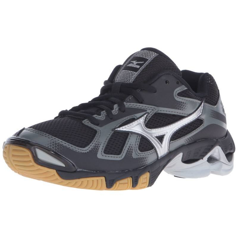 Mizuno Wave Bolt 5 Women - Black Silver