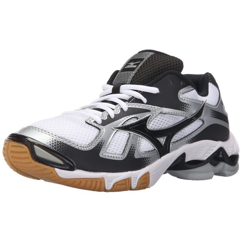 Mizuno Wave Bolt 5 Women - White Black