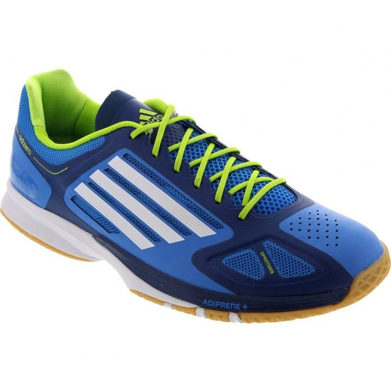 Adidas Adizero Feather Pro Squash Shoes - Men Blue