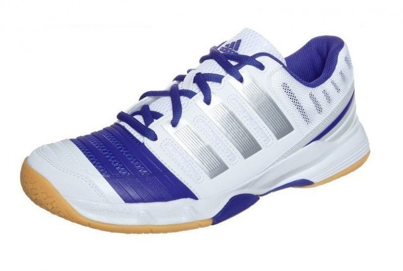 Adidas Court Stabil 11 Women - White Blue
