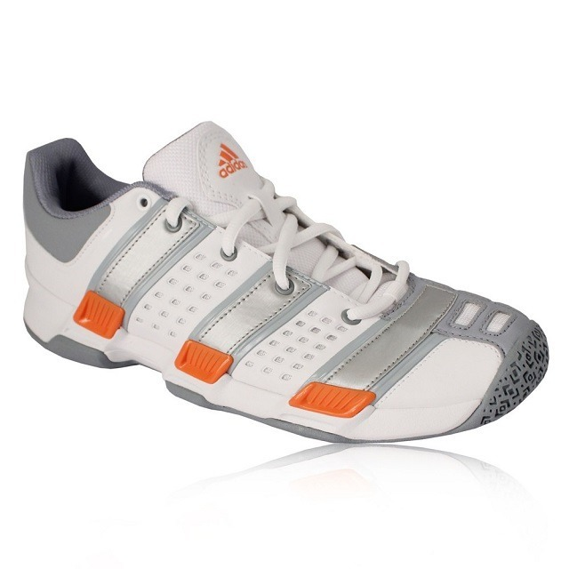 Adidas Court Stabil 5 W White Gray Red