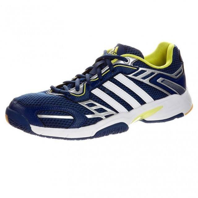 Adidas Opticourt Team Light indoor court shoes.