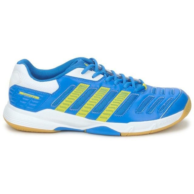 Adidas Stabil Essence Indoor Court Shoes Blue Yellow