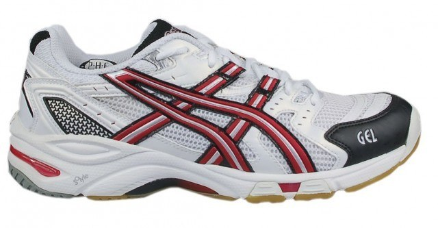 Asics Gel Beyond Men Squash Shoes - White Red
