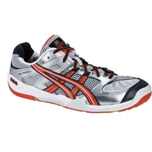 Asics Gel Blade 3 Red Silver