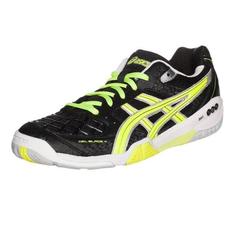 Asics Gel Blade 4 Black Yellow