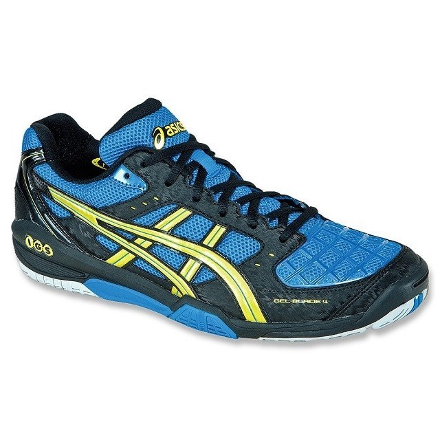 Asics Gel Blade 4 - Blue Yellow