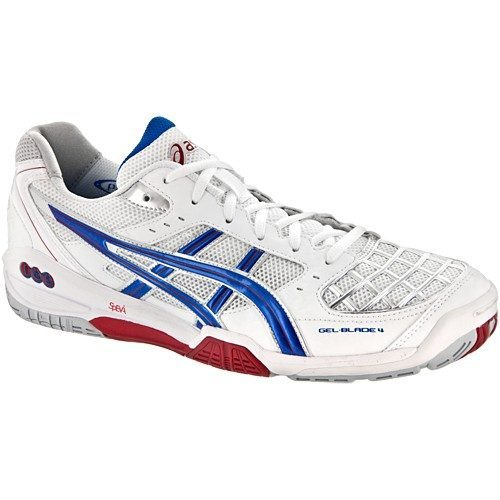 Asics Gel Blade 4 - White Red Blue