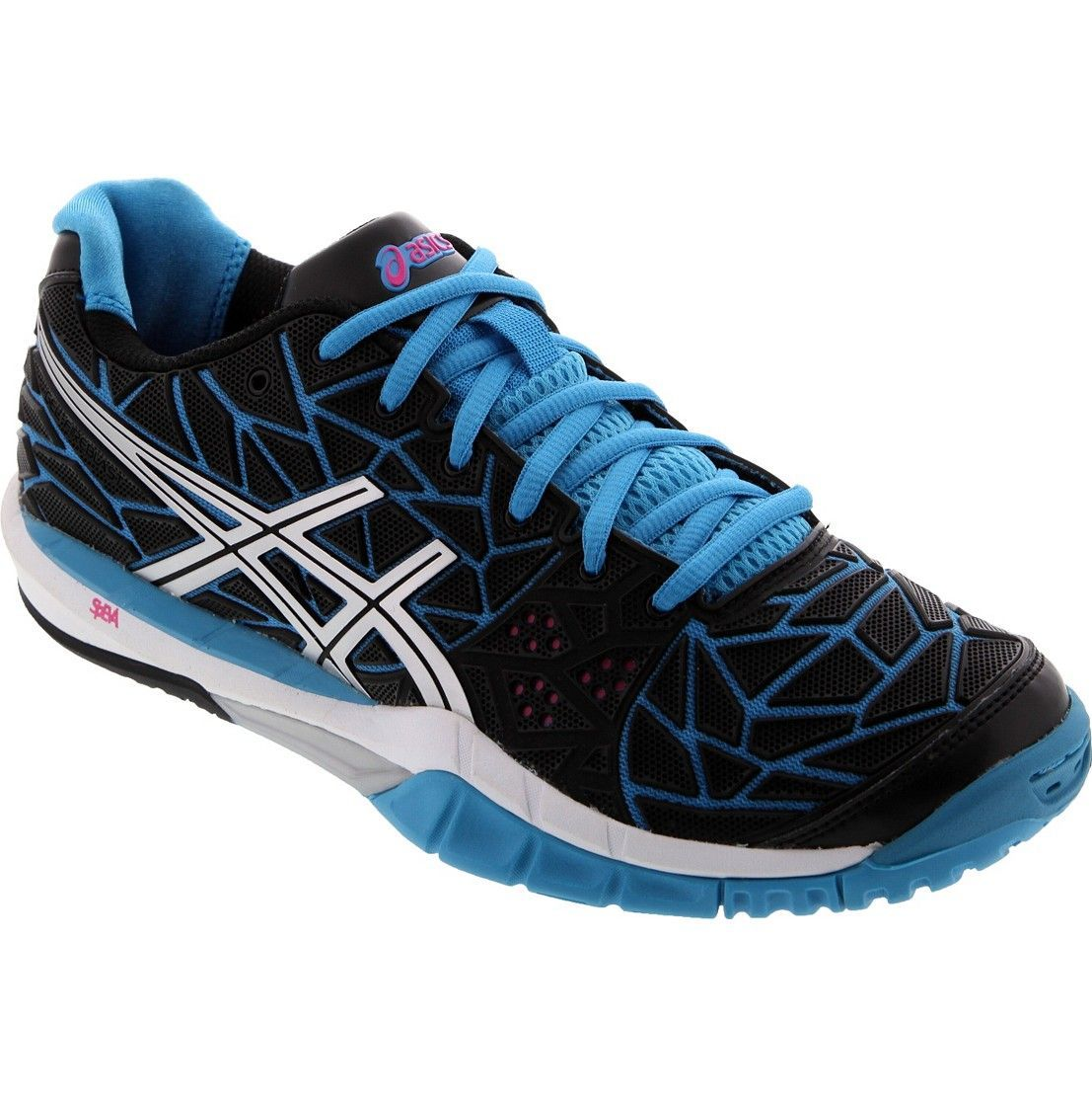 Asics Gel Fireblast Women - Black Blue