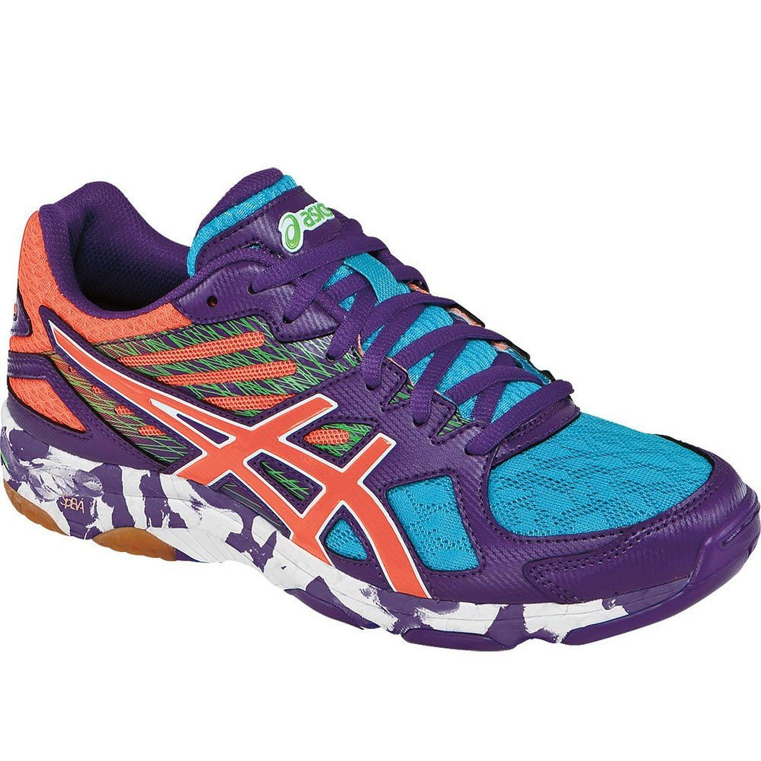 Asics Gel Flashpoint 2 Women - Purple Peach Green