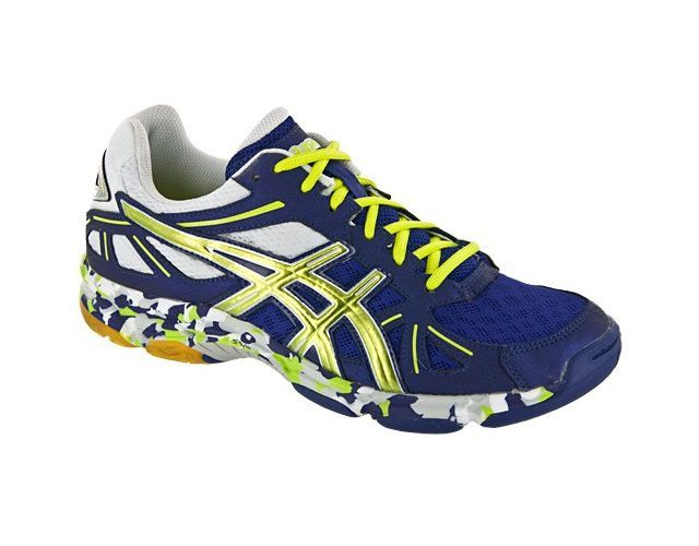 Asics Gel Flashpoint Blue Yellow