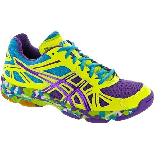 Asics Gel Flashpoint - Yellow Purple Turquoise