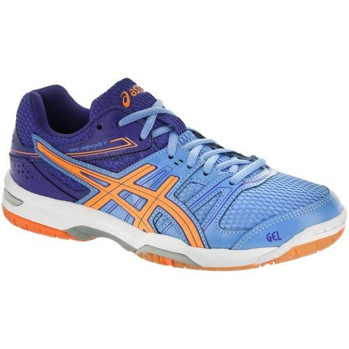 Asics Gel Rocket 7 Women [Blue Orange]