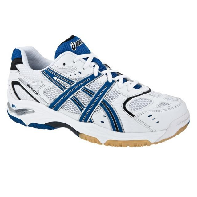 Asics Gel Tactic White Blue