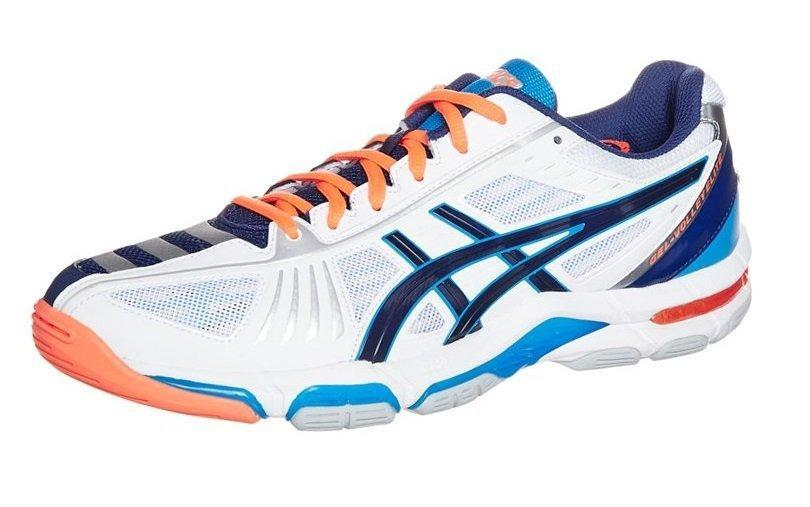 Asics Gel Volley Elite 2 Men - White Blue Orange