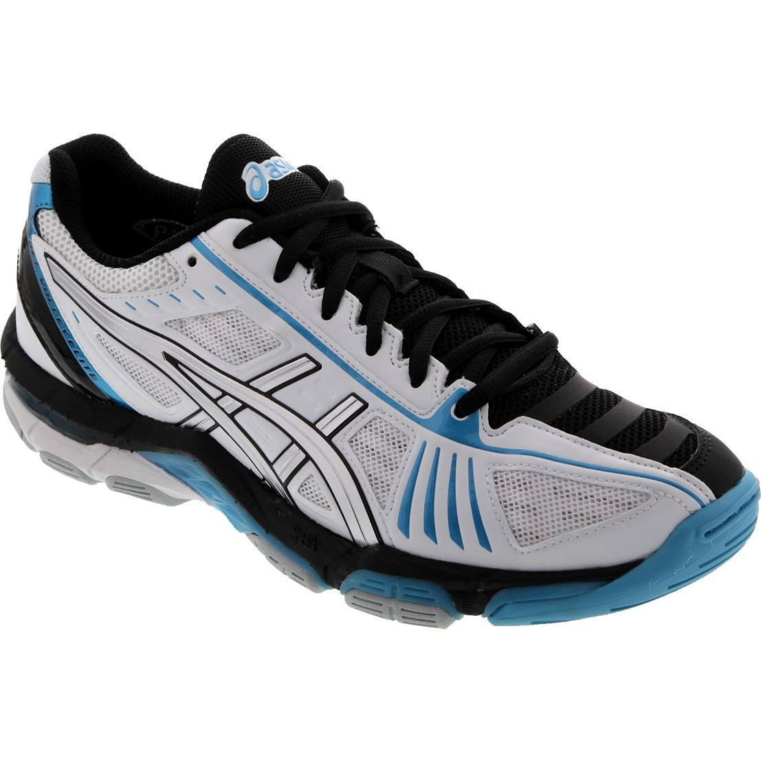 Asics Gel Volley Elite 2 - White Black Blue