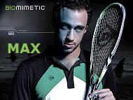 Dunlop Biomimetic Max Squash Racket Review