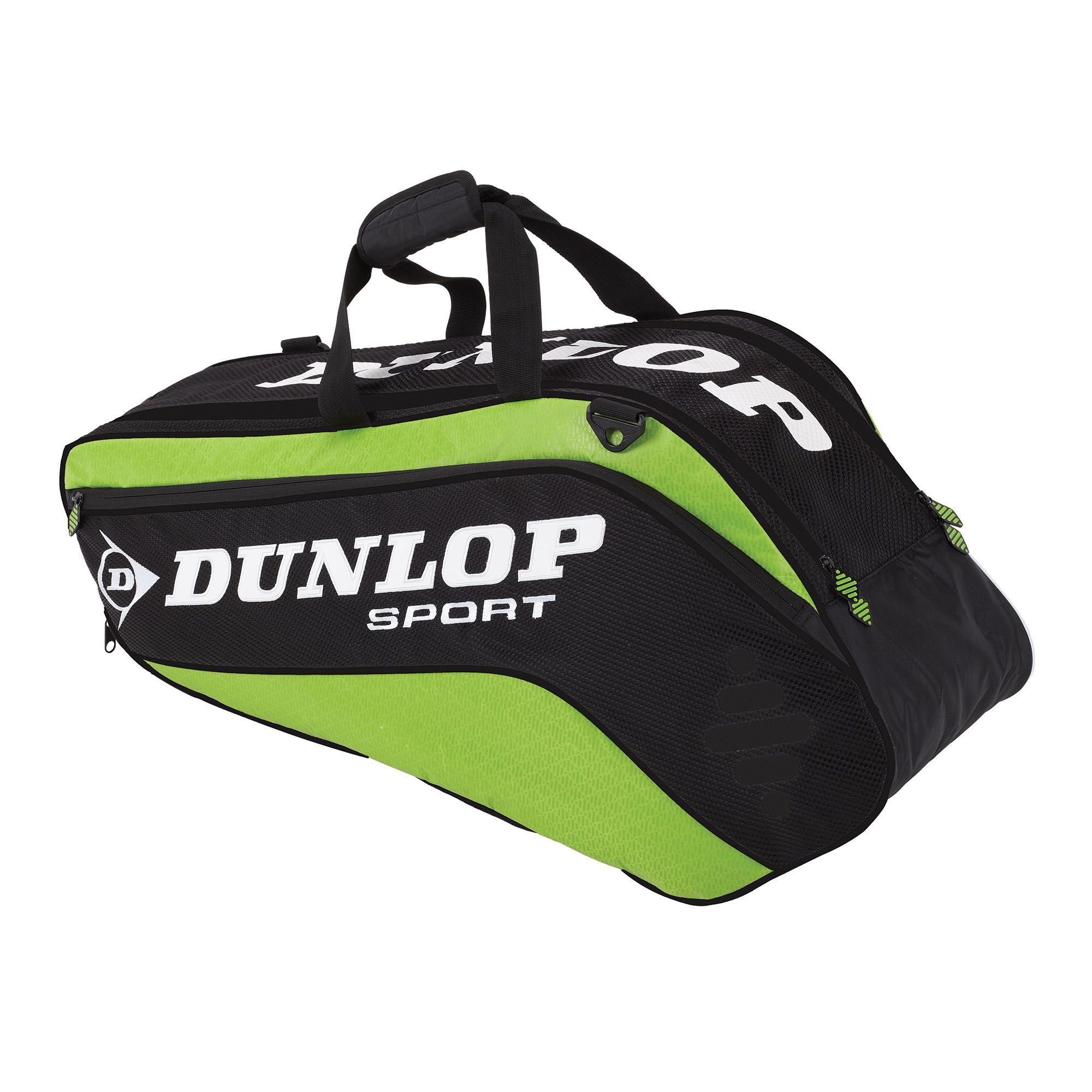 dunlop-biomimetic-tour-6-squash-bag-green