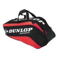 dunlop-biomimetic-tour-6-squash-bag-red