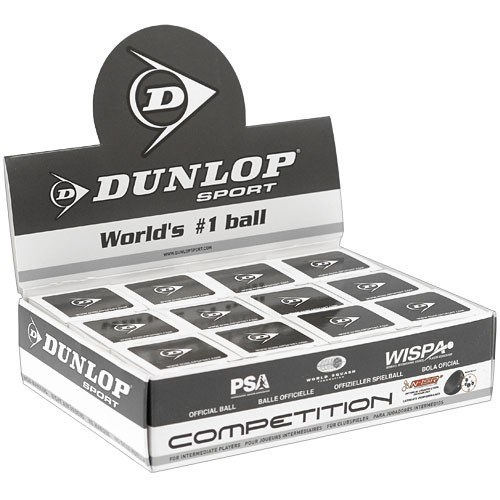 Dunlop Yellow Dot Competition Ball