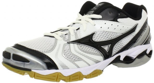 Mizuno Wave Bolt 2 - White Black
