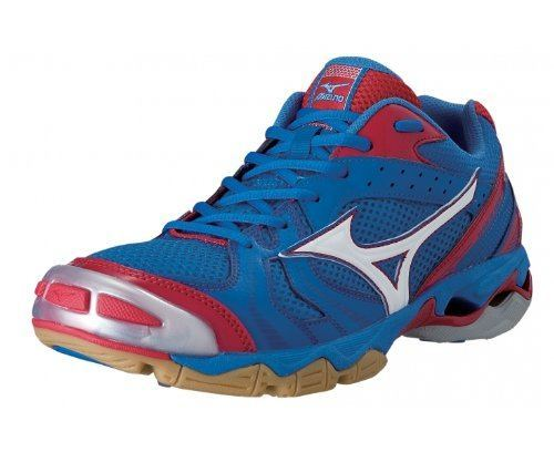 Mizuno Wave Bolt 2 - Blue Red