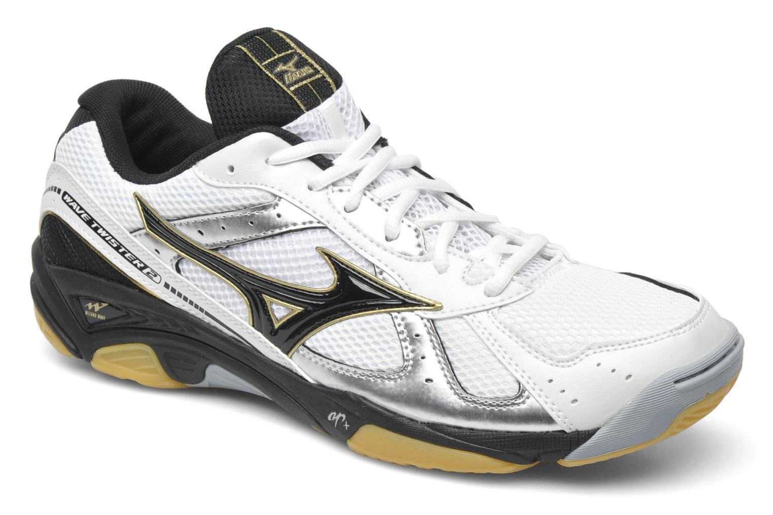 Mizuno Wave Twister 2 - White Black