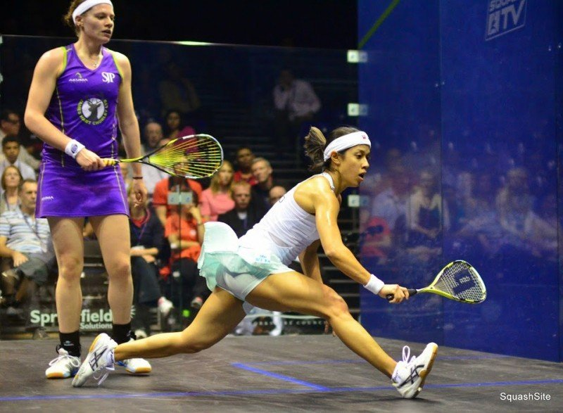 Nicol David 2014 British Open