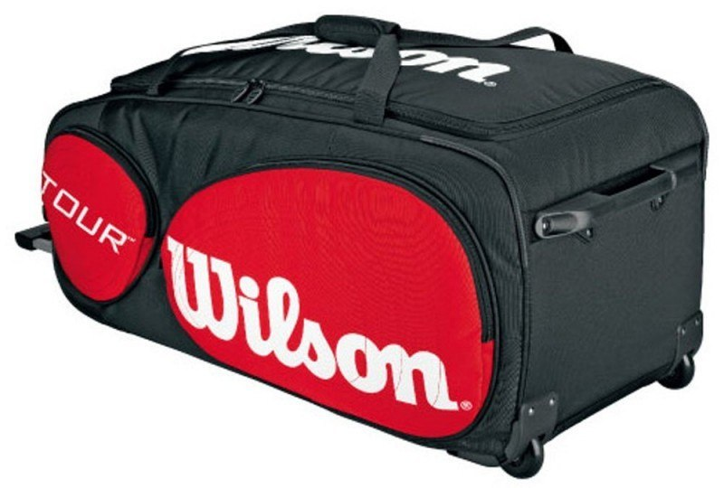 Wilson Tour Squash Bag with Wheels