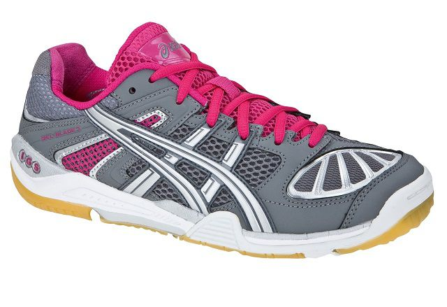 Asics Gel Blade 3 Women Gray Pink