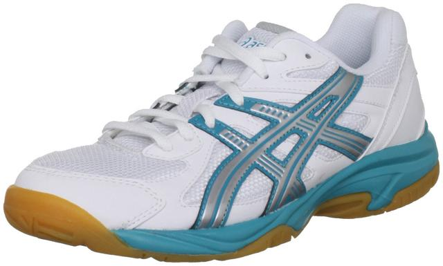 Asics Gel Doha womens in white and turquoise