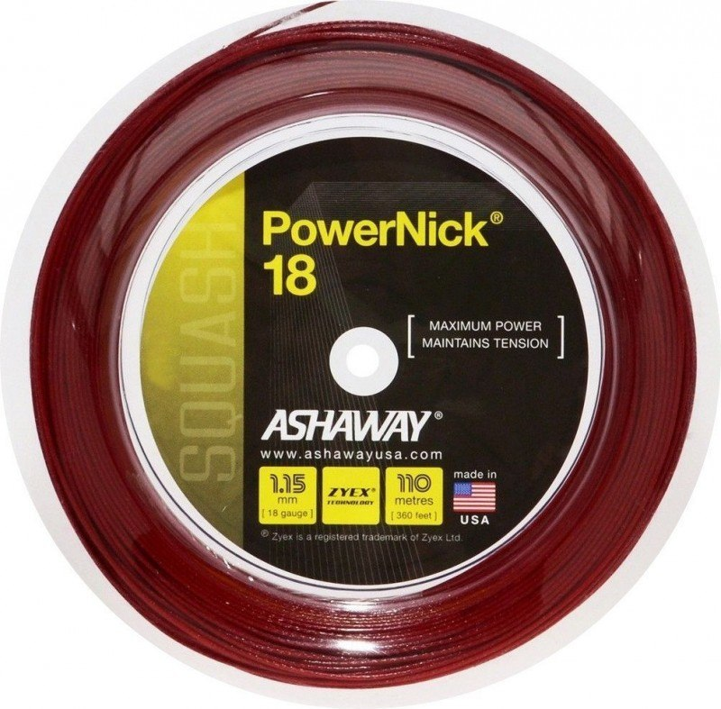 ashaway-powernick-18-red-reel