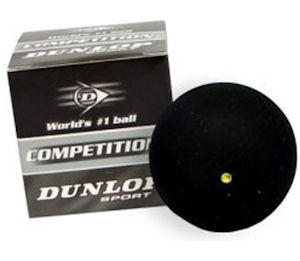 Dunlop Competition Single Yellow Dot - 1 Ball