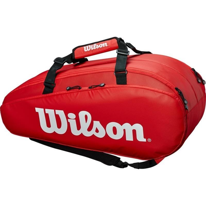 Wilson Tour 2 Compartment Red